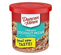 Duncan Hines Coconut Pecan Ready To Serve - 15 Oz