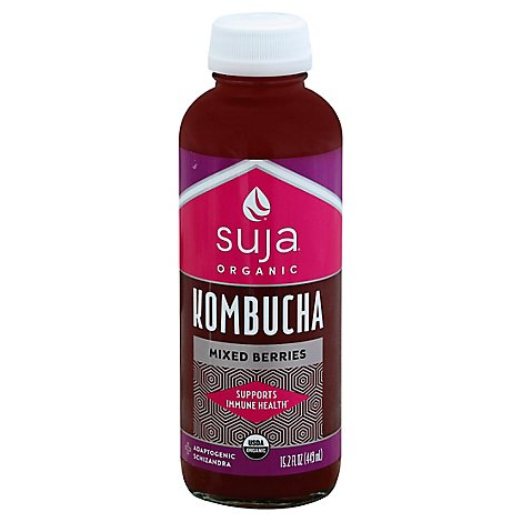 Suja Kombucha Berry Bottle - 15.2 Fl. Oz.