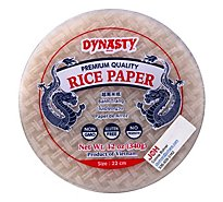 Dynasty Rice Paper - 12 Oz