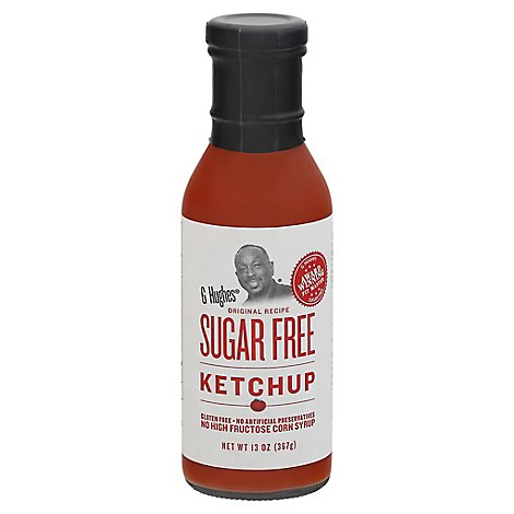 G Hughes Ketchup Sugar Free Original Recipe - 13 Oz