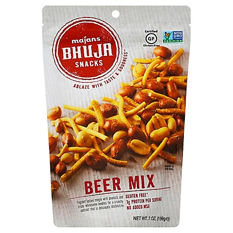 Bhuja Snackmix Beer - 6 Oz
