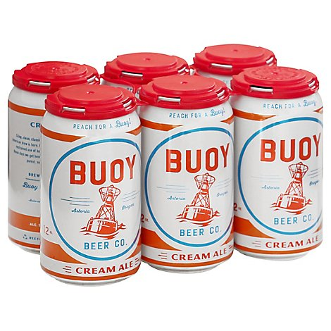 Buoy Beer Cream Ale In Bottles - 6-12 Fl. Oz.
