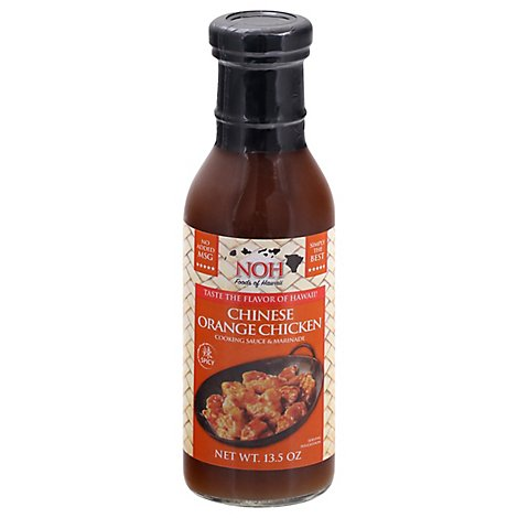 NOH Foods of Hawaii Cooking Sauce & Marinade Chinese Chicken Orange Bottle - 13.5 Oz
