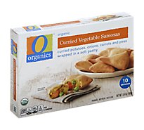 O Organics Samosas Curried Vegetable - 6.4 Oz