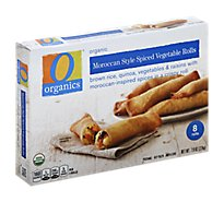 O Organics Rolls Vegetable Spiced Moroccan Style - 7.9 Oz