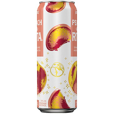 Bud Light Peach A Rita In Cans - 25 Fl. Oz.