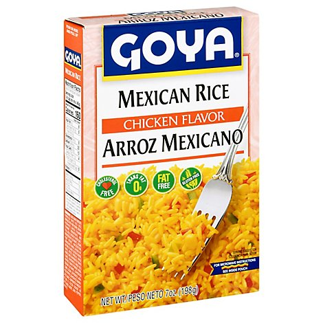 Goya Rice Mexican Chicken Flavor Box - 7 Oz