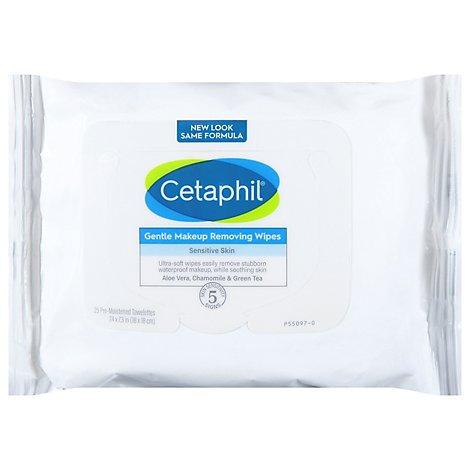 Cetaphil Wipes Gentle - 25 Count