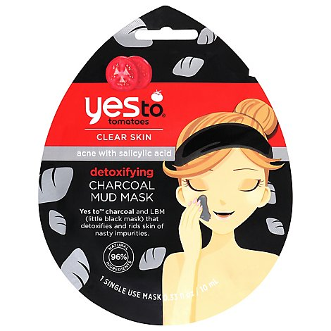 Yes To Charcoal Acne Mask - Each