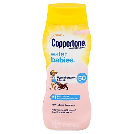 Coppertone Waterbby Spf50 - 8 Fl. Oz.