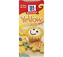 McCormick Food Color Yellow - 1 Fl. Oz.