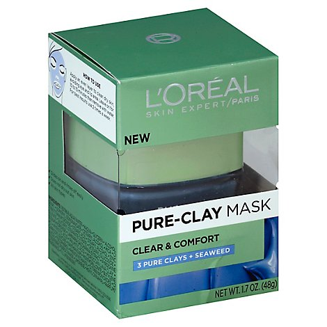Loreal Pure Mask Clr & Cmfrt - 1.7 Z