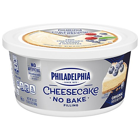 Kraft Philly Cheesecake Filling - 24 Oz