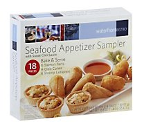 waterfrontBISTRO Seafood Appetizers Sampler With Sauc - 16.6 Oz