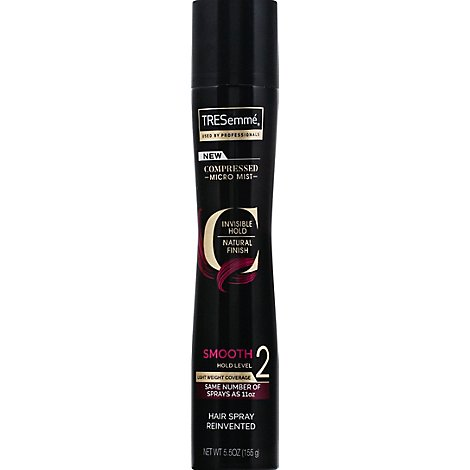 TRESemme Hairspray Compressed Micro Mist Smooth 2 Aerosol - 5.5 Oz