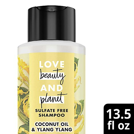 Love Beauty and Planet Shampoo Sulfate Free Coconut Oil & Ylang Ylang - 13.5 Fl. Oz.