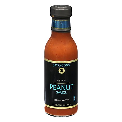 East West Sauce Asian Peanut - 12 Oz