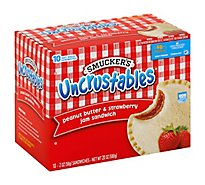 Smucker Uncrustables Peanut Butter Straw - 10-2 Oz