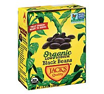 Jacks Quality Beans Organic Low Sodium Black - 13.4 Oz