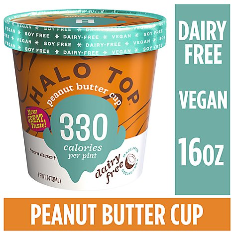 Halo Top Dairy Free Peanut Butter Cup - 1 Pint