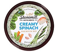 Stonemill Kitchens Dip Creamy Spinach - 11 Oz