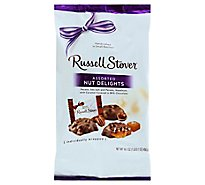 Russell Stover Nut Delights Assorted With Caramel - 16.1 Oz