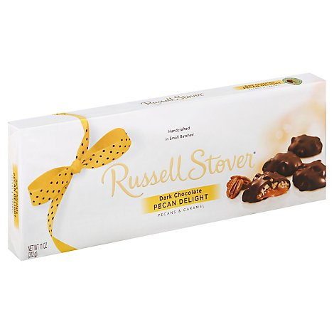 Russell Stover Pecan Delights Dark Chocolate - 11 Oz