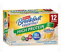 Carnation Breakfast Essential Nutritional Drink High Protein Classic French Vanilla - 12-8 Fl. Oz.