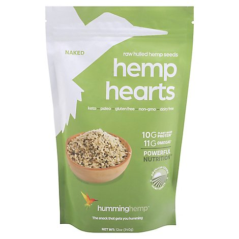 Humming Hemp Hemp Hearts - 12 Oz