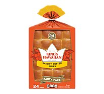 Kings Hawaiian Rolls Savory Butter - 24 Oz