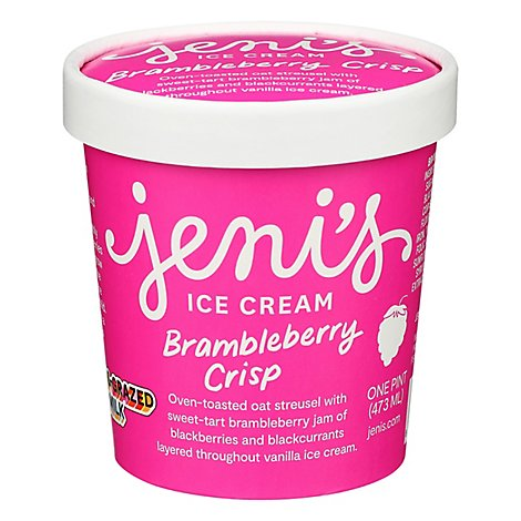 Jenis Ice Cream Brambleberry Crisp 1 Pint - 16 Oz