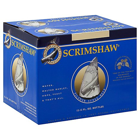 North Coast Scrimshaw Pilsner In Bottles - 12-12 Fl. Oz.