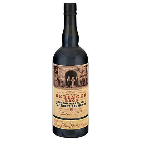 Beringer Bros Bourbon Barrel Cabernet Wine - 750 Ml