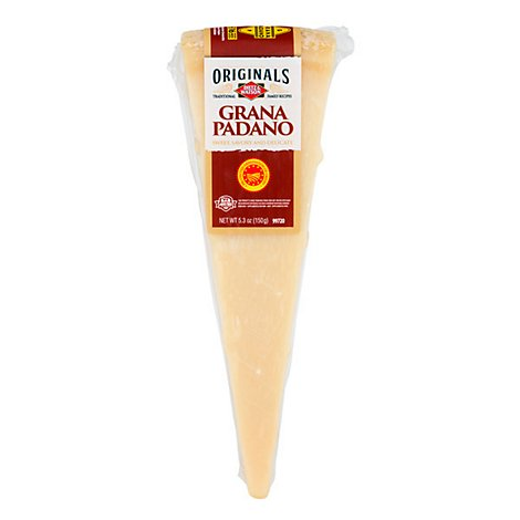 Dietz & Watson Originals Grana Padano Cheese Wedge 5.3 Oz