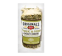 Dietz & Watson Originals Garlic & Herb Goat Cheese Log 4.5 Oz