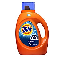 Tide Plus Laundry Detergent Liquid Ultra Oxi 59 Loads - 92 Fl. Oz.
