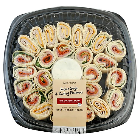 Taylor Farms Tray Pinwheel Italian Style & Turkey - 34.75 Oz
