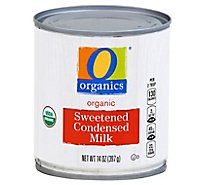 O Organics Organic Milk Condensed Sweetened - 14 Oz