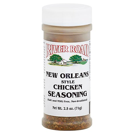 River Road New Orleans Chicken Ssng N/S - 2.5 Oz