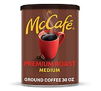McCafe Coffee Arabica Ground Medium Roast Premium Roast - 30 Oz