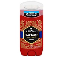 Old Spice Red Collection Deodorant Captain Bravery & Bergamot Scent - 3 Oz