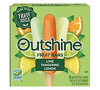 Outshine Lime Tangerine Lemon Fruit Bar - 18 Fl. Oz.