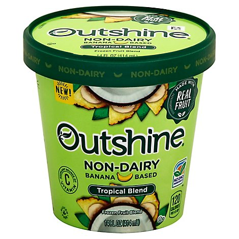 Outshine Non Dairy Tropical Blend - 14 Fl. Oz.