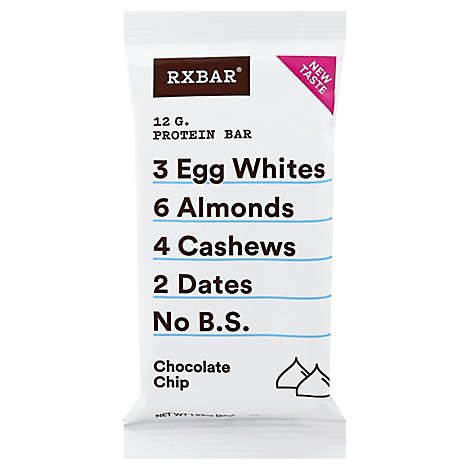 RXBAR Protein Bar Chocolate Chips Wrapper - 1.83 Oz