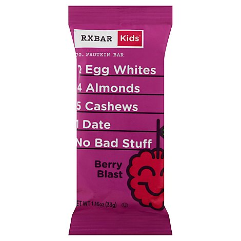 Kids Berry Blast Rxbar - 1.16 Oz