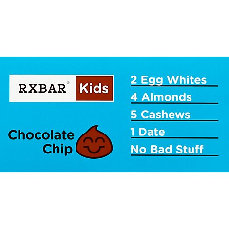Rxbar Kids Chocolate Chip - 1.16 Oz
