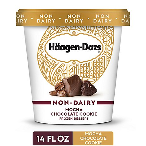 Haagen-Dazs Non Dairy Ice Cream Mocha Co - 14 Fl. Oz.