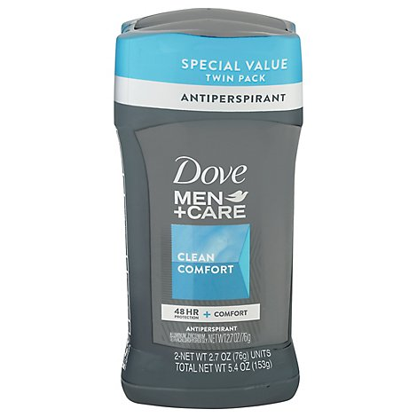 Dove Men+Care Antiperspirant Deodorant Clean Comfort - 2.7 Oz