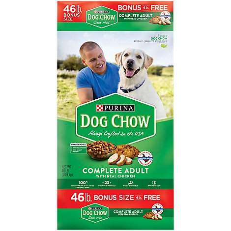 Dog Chow Dog Food Dry Complete Chicken - 46 Lb