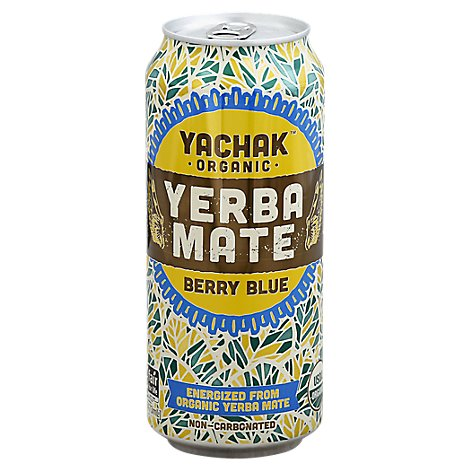 Yachak Yerba Mate Blueberry - 16 Fl. Oz.